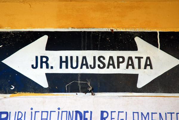 Jiron Huajsapata