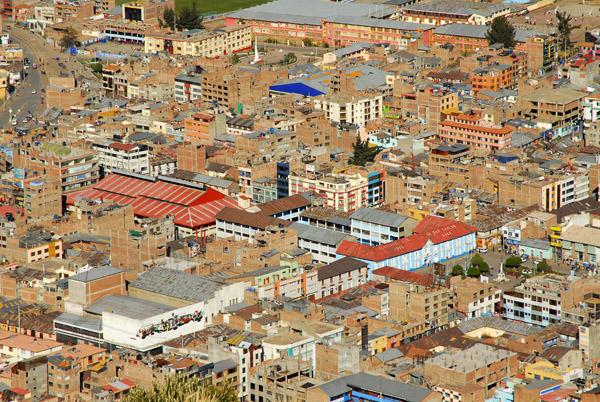 Puno from Cerro Asogini