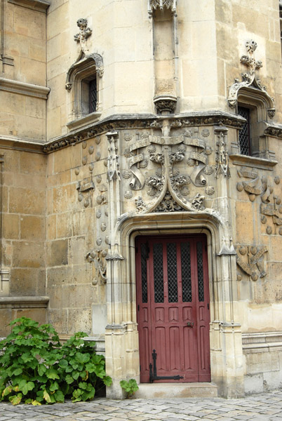 Door to the tower of the Hôtel du Cluny