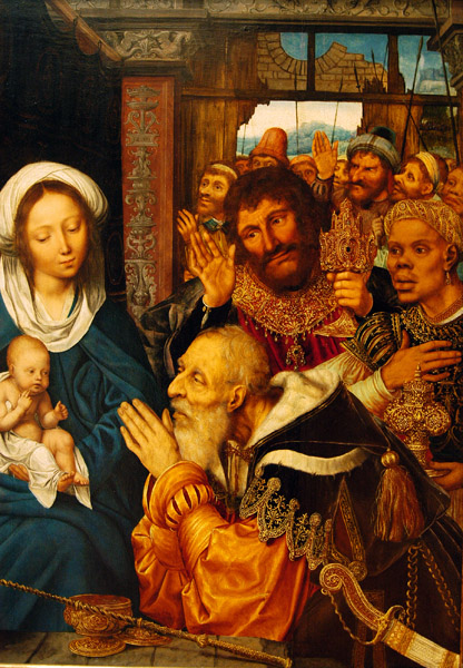 The Adoration of the Magi by Quentin Massys, 1526
