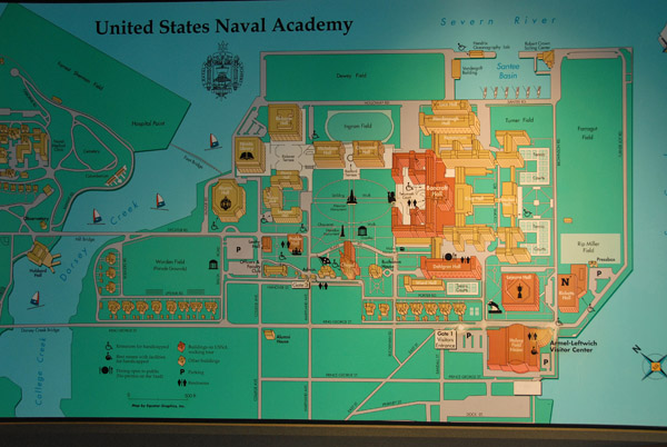 EV Charging Potential At USNA About Campus Map Visit USNA - Us naval academy campus map