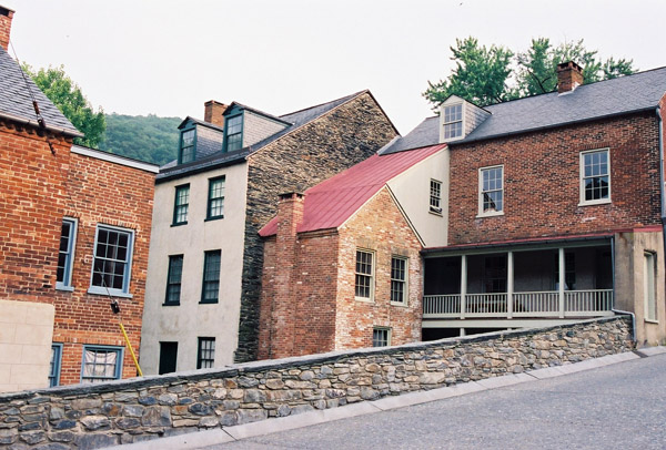 Harpers Ferry is best known for the 1859 raid on the Armory by the militant abolitionist John Brown