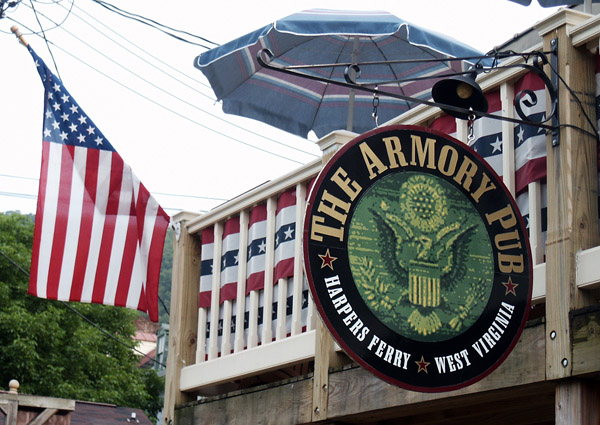 The Armory Pub, Harpers Ferry, West Virginia
