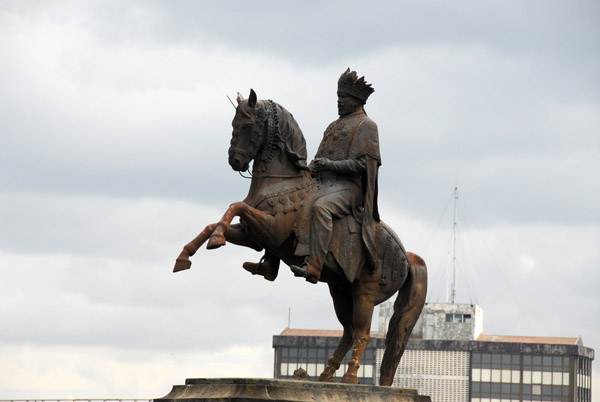 Equestrian statue of Emperor Menelik II, Addis Ababa