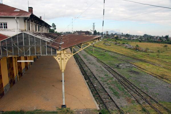 Deserted platform, Addis Ababa Railway Station