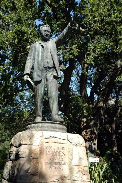 Cecil Rhodes statue, Companys Gardens