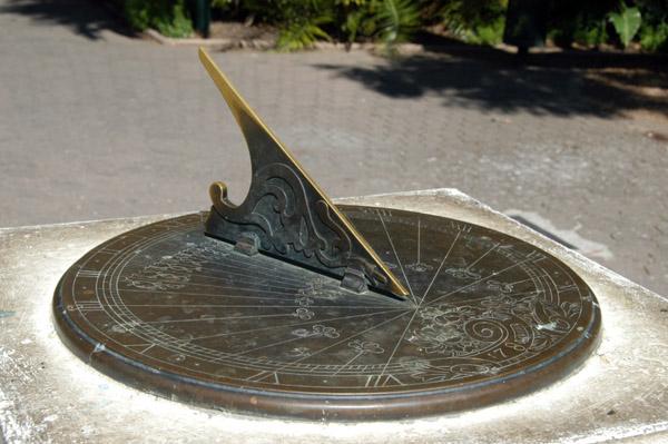 Sundial, Companys Garden, Cape Town