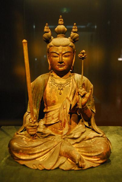 Seated Monju Bosatsu (Manjusri) Kamakura period 1273