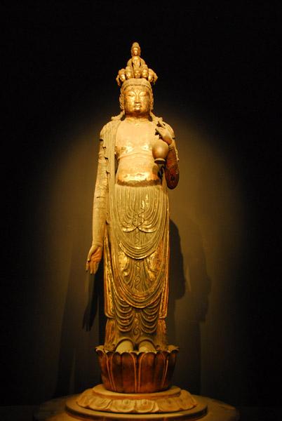 Standing 11-headed Kannon Bosatsu (Ekadashamukha Avalokitesvara) Nara period, 8th C.
