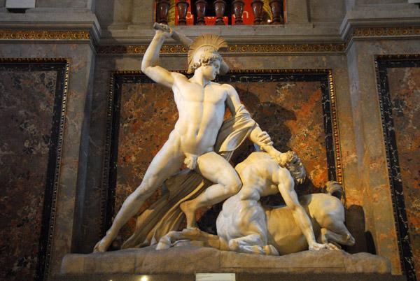 Thesus Slaying the Centaur by Antonio Canova, 1805-1819