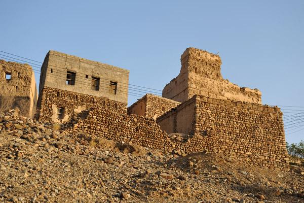 Village ruins, Wadi Hawasinah