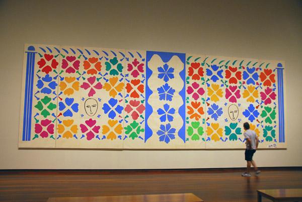 Large Composition with Masks, Henri Matisse, 1953