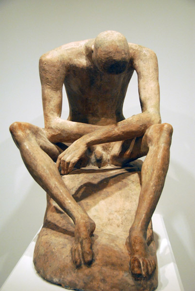 Seated Youth, Wilhelm Lehmbruck, 1917
