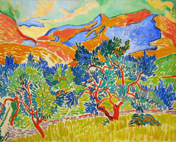 Mountains at Collioure, André Derain, 1905