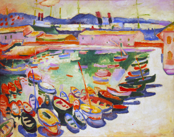 The Port of La Ciotat, Georges Braque, 1907