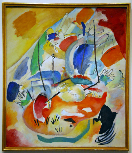 Improvisation 31 (Sea Battle), Wassily Kandinsky, 1913