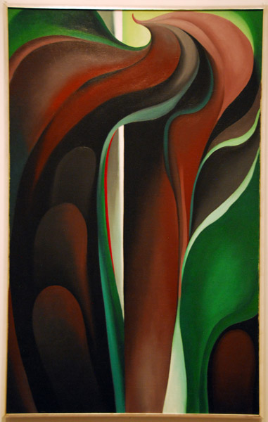 Jack-in-the-Pulpit No. V, Georgia OKeeffe, 1930