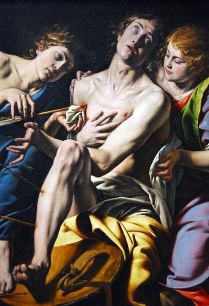 Saint Sebastian, Tanzio da Varallo, ca 1620