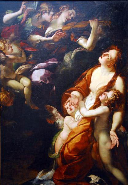 The Ecstasy of the Magdalen, Giulio Cesare Procaccini, ca 1616