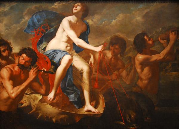 The Triumph of Galatea, Bernardo Cavallino, ca 1650
