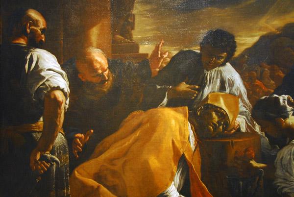 The Martyrdom of St. Gennaro, Mattia Preti, ca 1685