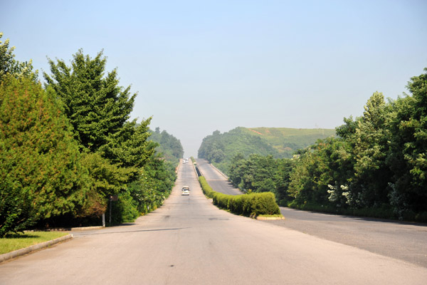 The Pyongyang-Kaesong-Seoul Highway, North Korea