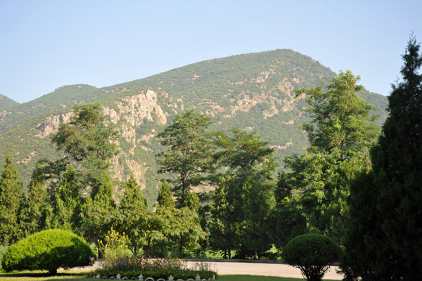 Mountain by the rest area, North Hwanghae Province, DPRK