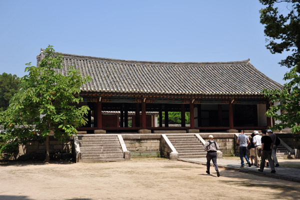 This was Songgyungwan, the central institute of education in the Koryo dynasty