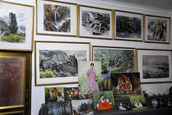 Gift shop, Koryo Museum