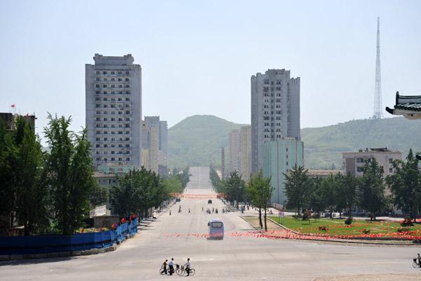 Main Street, Kaesong, DPRK