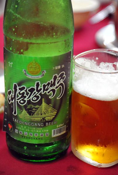 Taedonggang Beer, Pyongyang, North Korea photo - Brian McMorrow