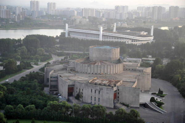 Pyongyang International Cinema House and Yanggakdo Football Ground, Pyongyang