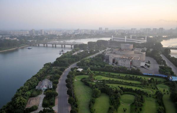 Yanggakdos 9-hole golf course, Pyongyang