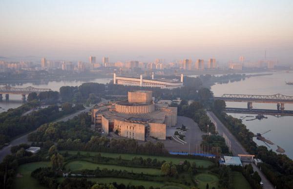 Pyongyang International Cinema House, Yanggakdo Island