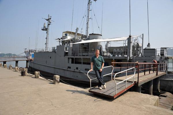 Me with the USS Pueblo
