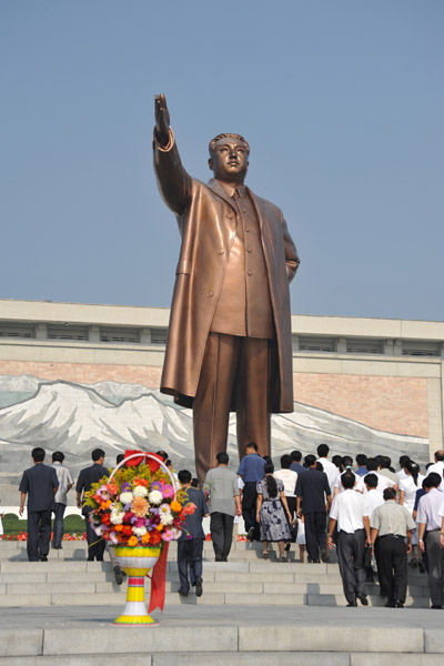 President for Eternity, the Great Leader Kim Il Sung