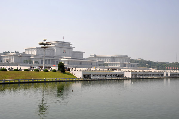 Kumsusan Memorial Palace, the home of the Eternal President Kim Il Sung