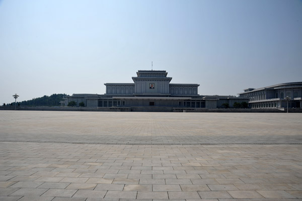 A visit to Kumsusan Memorial Palace takes about 90 minutes