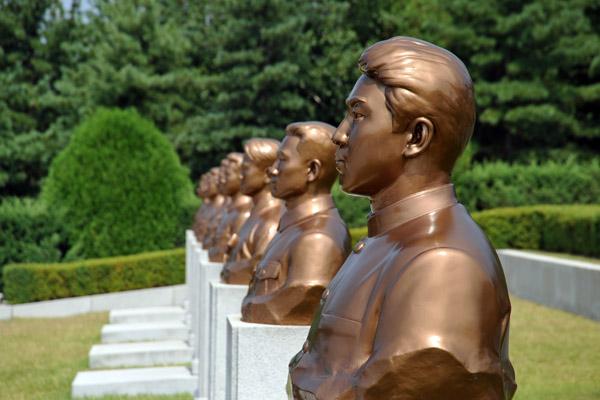Revolutionary Martyrs Cemetary, Pyongyang
