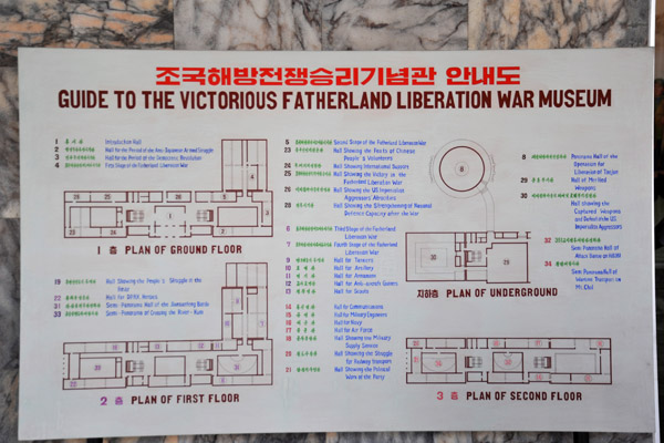 Guide to the Victorious Fatherland Liberation War Museum