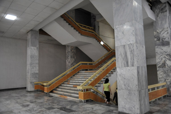 Staircase, Victorious Fatherland Liberation War Museum, 1974