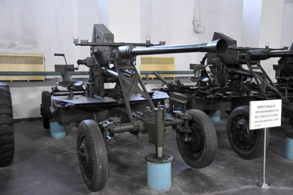 Captured American 40mm cannon, Victorious Fatherland Liberation War Museum