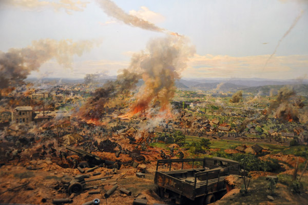 Battle of Daejeon cyclorama, Victorious Fatherland Liberation War Museum