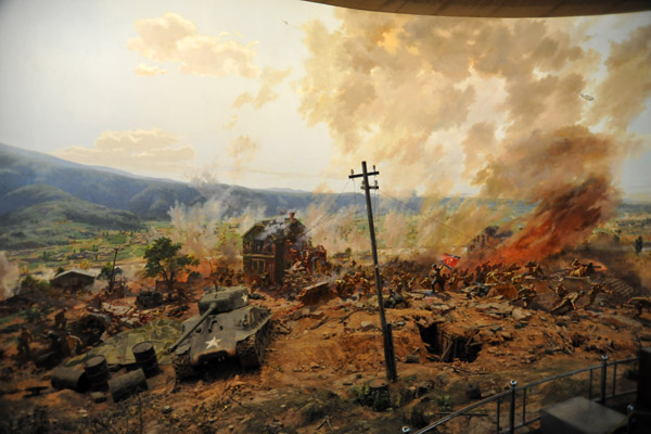 For the US, the Battle of Daejeon was a 1 week delaying action by the 24th Infantry Division