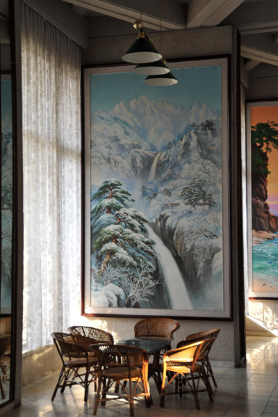 Lobby, Hyangsan Hotel