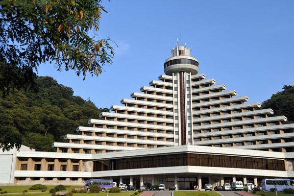 Hyangsan Hotel, Mt. Myohyang Nature Reserve, North Korea