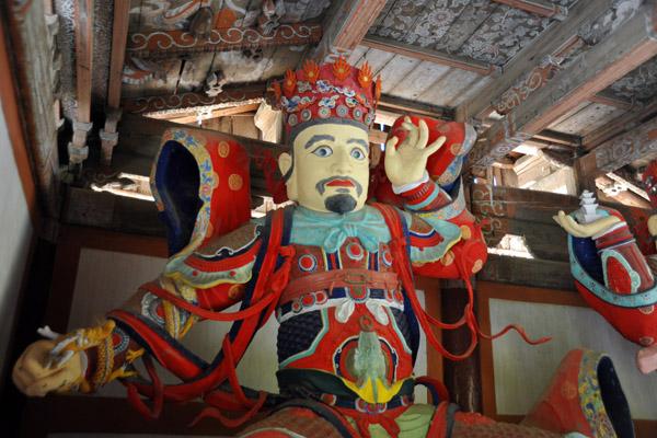Gwangmok-cheonwang, Heavenly King of the West