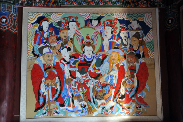 Painting, Teaeung Hall, Pohyon Temple