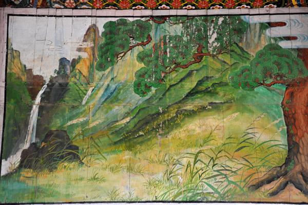 Landscape painting, Kwanum Hall