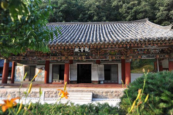 보현사 Kwanum Hall, Pohyon Temple